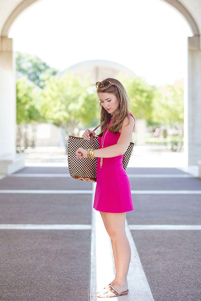 the little pink dress