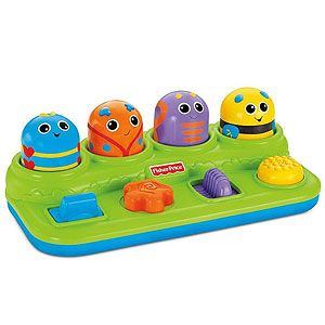 Toys for Kids With Special Needs: Brilliant Basics Boppin' Activity Bugs (Fisher-Price) (via Parents.com)