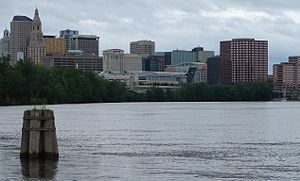 Hartford is the capital of the U.S. state of Connecticut. It was the seat of Hartford County until Connecticut disbanded county government in 1960. As of the 2010 Census, Hartford's population was 124,775,[1] making it Connecticut's third-largest city after the coastal cities of Bridgeport and New Haven. Census Bureau estimates since then have indicated Hartford's subsequent fall to fourth place statewide as a result of sustained population growth in the coastal city of Stamford.