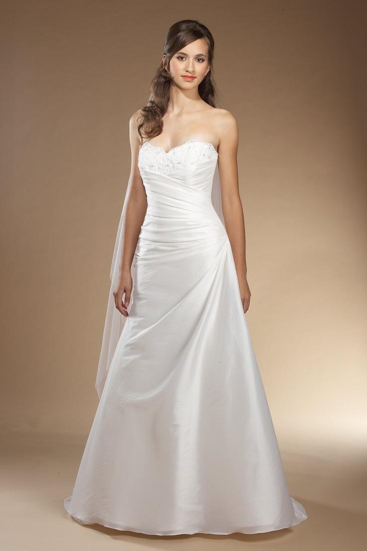 233 besten A-Line Wedding Dresses Bilder auf Pinterest ...