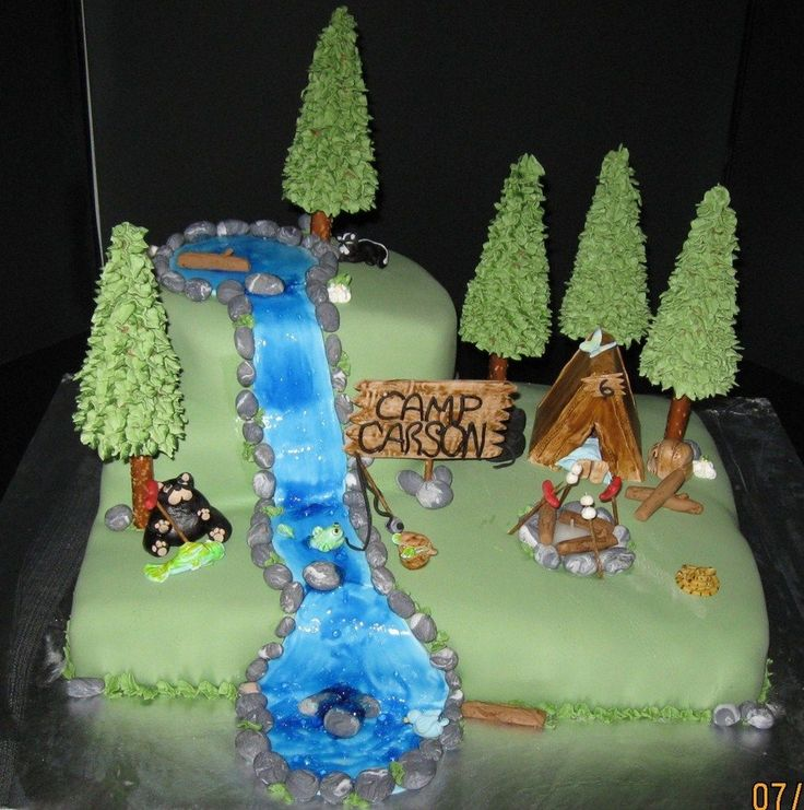 Birthday Table Mountain: 20 Best Skunk Cake Images On Pinterest