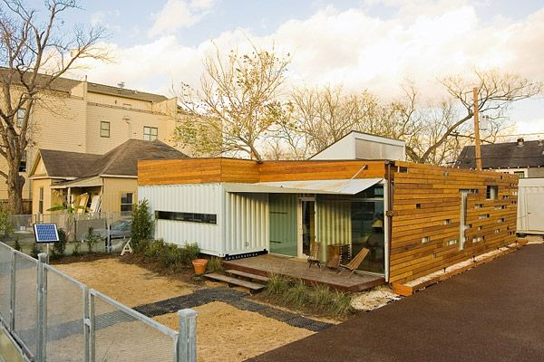 The Cordell Shipping Container House