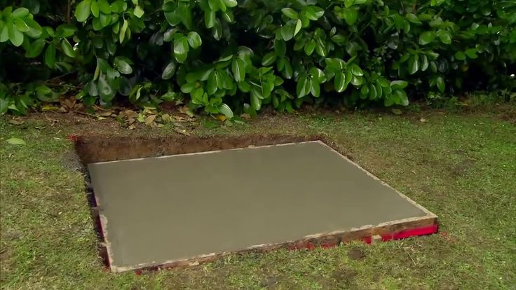 How to Lay a Concrete Pad Mitre 10 Easy As YouTube
