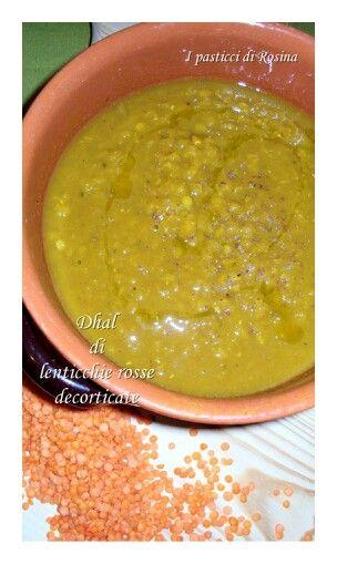 Dhal di lenticchie dolci decorticate
