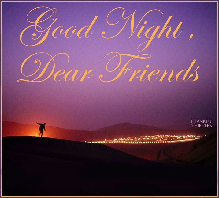 Good Night Dear Friends Pictures, Photos, and Images for Facebook, Tumblr, Pinterest, and Twitter