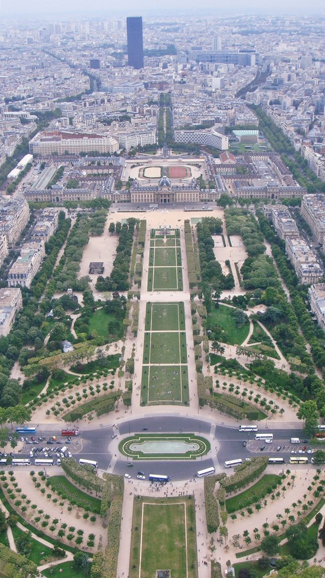 #Paris from the #Eiffel #Tower . #France
