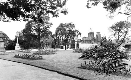 Old photo of Albert Park c1955, Middlesbrough