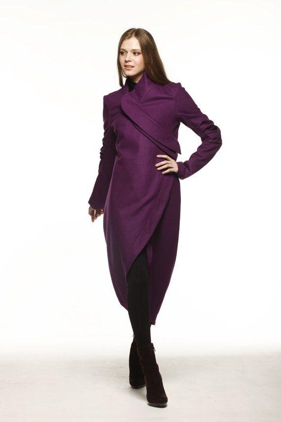 Best 25  Purple coat ideas on Pinterest | Purple fashion, Tweed ...