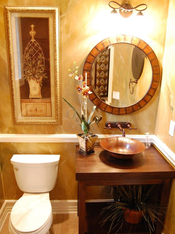 Neutral Bathroom With Built-In Shelves and a Freestanding Tub Under Window : Designers' Portfolio : HGTV - Home & Garden Television