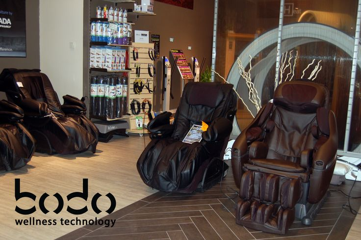 World's Best Massage Chairs by Inada. Try the Duet or Dreamwave today at Bodo Wellness Technology in Southcentre Mall in Calgary, Alberta.