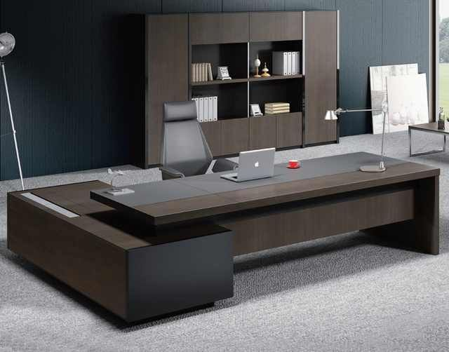 Source Modern Design Boss Office Desk Factory Design Patented Models Director Office Tab In 2020 Office Furniture Modern Office Table Design Contemporary Office Design