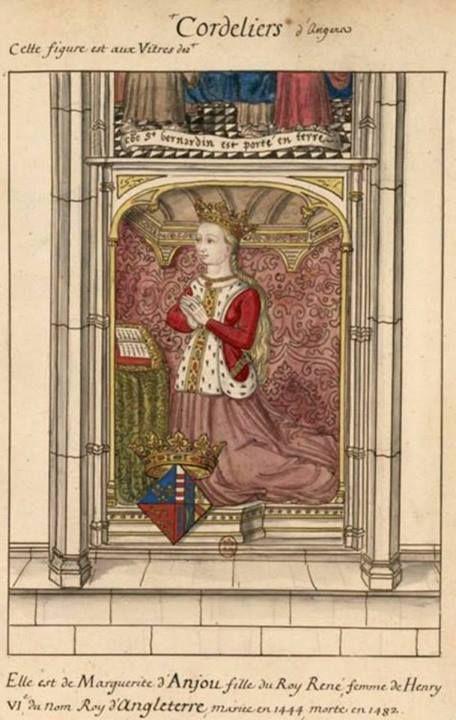 Death of Margaret of Anjou, widow of Henry VI (1482)