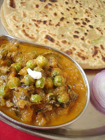 Methi-Matar Subzi - Indian Food Recipes | Andhra Recipes | Indian Dishes Recipes | Sailu's Kitchen