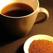 """Ground coffee into """"instant coffee""""  I need to try this!  I hate making coffee at home..."""