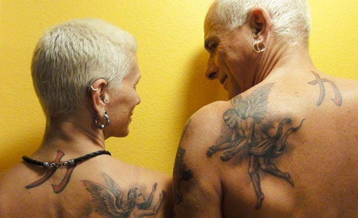 Ancianos tatuados responden a la eterna pregunta: ¿Qué pinta tendrás cuando cumplas los 60?
