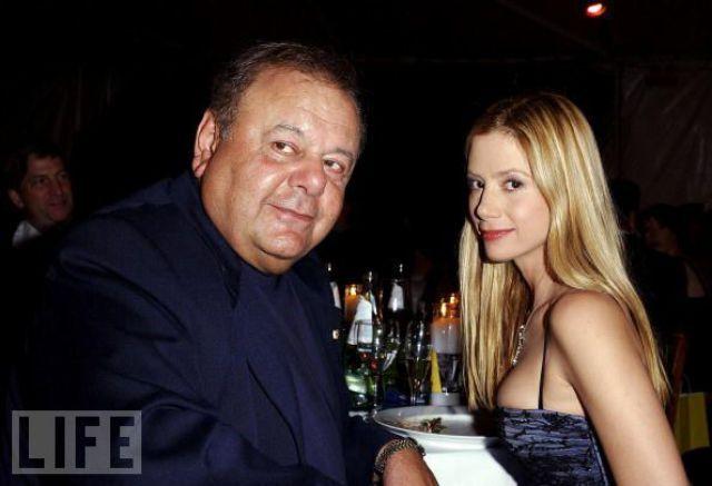 Actor Paul Sorvino and actress daughter Mira Sorvino.