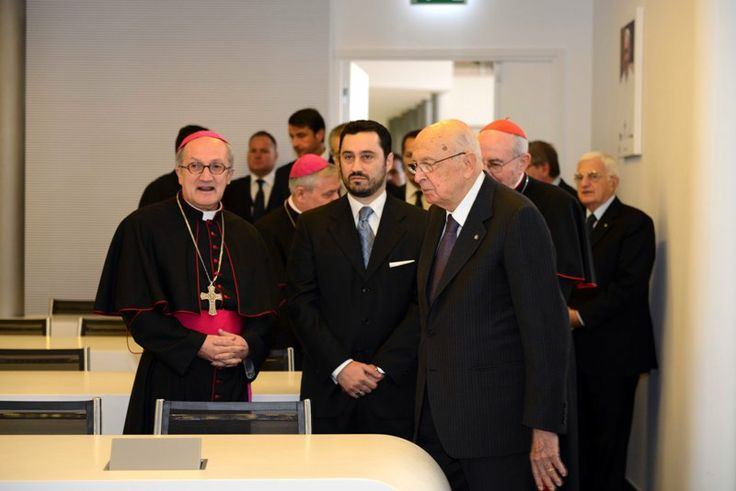 Inaugurazione Aula multimediale Papa Francesco