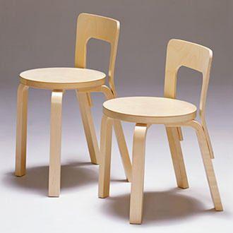 Alvar Aalto childrens chairs