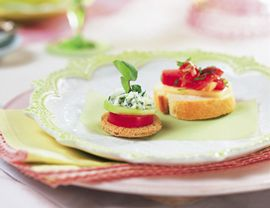 Herbed Goat Cheese and Cucumber Tea Sandwiches: Sandwiches Vegetariantimes Com, Cucumber Tea Sandwiches, Vegetarian Tea Sandwiches, Food, Tea Sandwich Recipes, Cucumber Sandwiches, Appetizers Med Jpg 270 208, Appetizers Sides Snacks, Rooms Tea Sandwiches