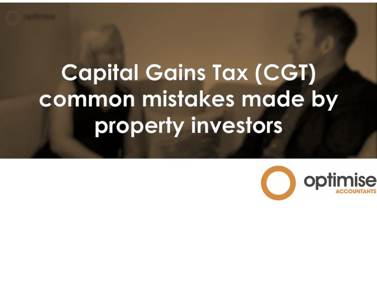 Rob and Louise discuss: Capital Gains Tax (#CGT) and common mistakes made by #Property #Investors https://youtu.be/CxwcObvgyvE