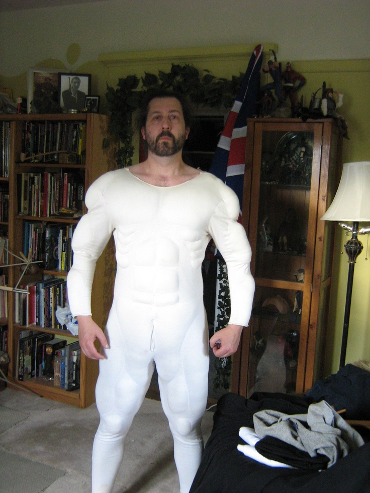 11 best images about muscle man suit on pinterest | mars, strength, Muscles