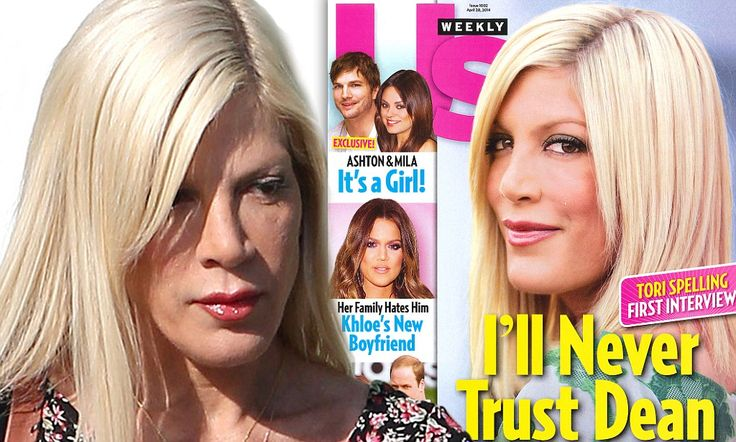 Tori Spelling says she and Dean McDermott haven't had sex this year