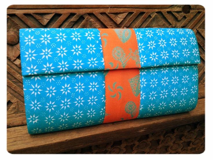 Batik #clutchbag  stamped batik truntum + stamped batik becak    #clutchbag #clutch #batikbag #indonesia #ethnicbag #traditional #batik -sold to mrs. Lia-