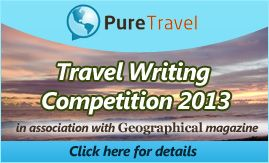 Hurry! Travel Writing Competition closing VERY soon... don't miss out on a great prize!