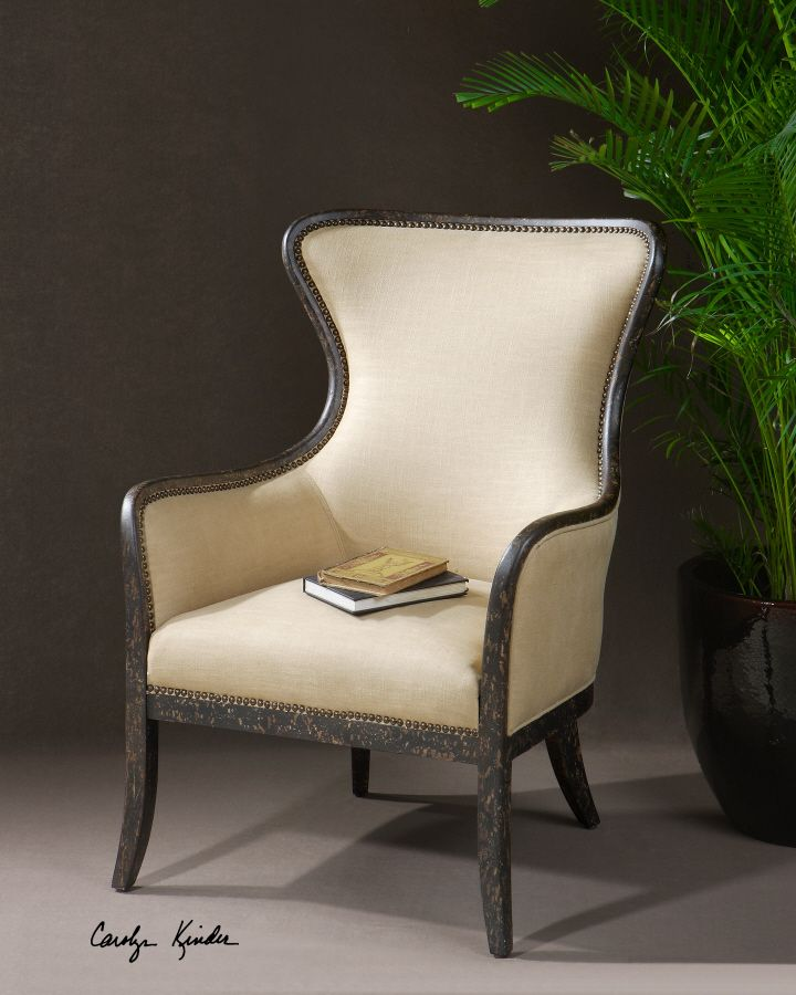 Zander Armchair | Chairs | Accent Furniture | Carolyn Kinder
