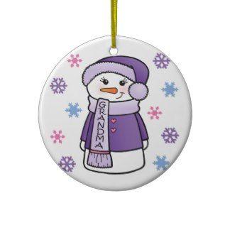 World's Best Grandma Christmas Tree Ornament