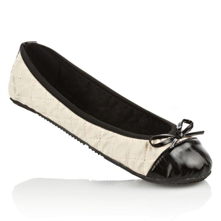 Womens Ladies Ballerina Dolly Bow Flat Comfy Cinderella Shoes Pumps Black 3-10