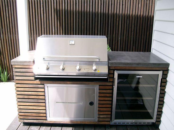 Arbeitsplatten Aus Beton Outdoor Grill Kuche Kochen Im Freien Und Outdoor Kuche