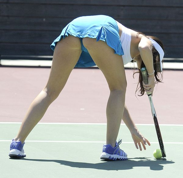 Always makes free celeb upskirt tennis