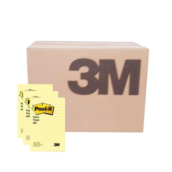 Post-it Yellow Notes Line 660 (grosir) - 4 in x 6 in (10.16 cm x 15.24 cm) Canary Yellow Lined - Kertas Memo 3M di Jual Murah  660 - Post-It Yellow Notes Line, 100 sheets/pad     (72 Pad/Ctn) - Harga per Ctn  http://tigaem.com/post-it-grosir/945-post-it-yellow-notes-line-660-grosir-4-in-x-6-in-1016-cm-x-1524-cm-canary-yellow-lined-kertas-memo-3m-di-jual-murah.html  #postit #notes #memo #3M