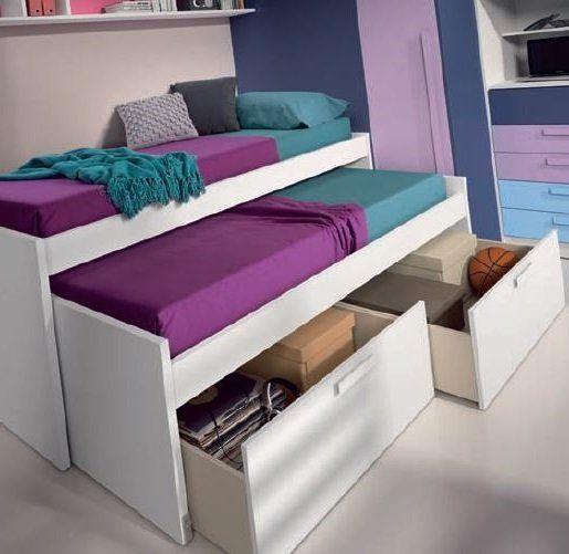 les 25 meilleures id es de la cat gorie lit gigogne sur pinterest lits escamotables hiddenbed. Black Bedroom Furniture Sets. Home Design Ideas