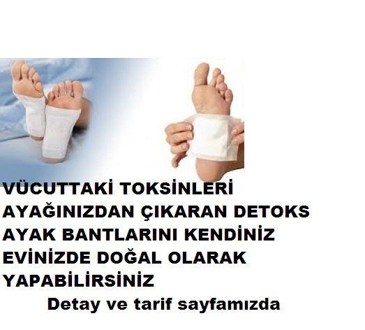 Doğal Detoks ayak pedlerini geceden ayak tabanınıza yerleştiriyorsunuz ve gece boyunca vücuttaki zararlı tüm toksinleri sabaha kadar ayak tabanınızdan dışarı atıyor İlk olarak Japonya da kullanılmıştır Detoks ayak pedlerinin kullanımlarının fayfalarına gelince: Vücudun salgıladığı zehirli maddelerin emilmesine Vücuttaki küçük ağrıların giderilmesi Bağışıklık sistemi üzerindeki yükün atılması Lenfatik sistemin doğal olarak temizlenmesi Normal kan dolaşımının düzenlenmesi Ağır metallerin…