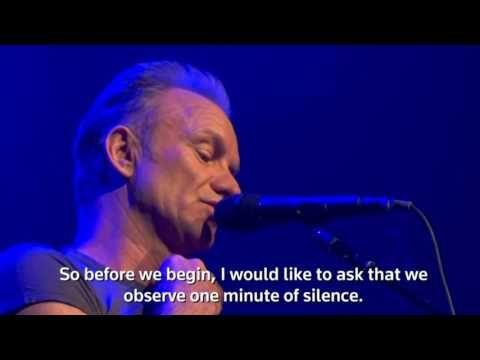 So berührend eröffnete Sting das Bataclan – Videos und Fotos   traveLink.