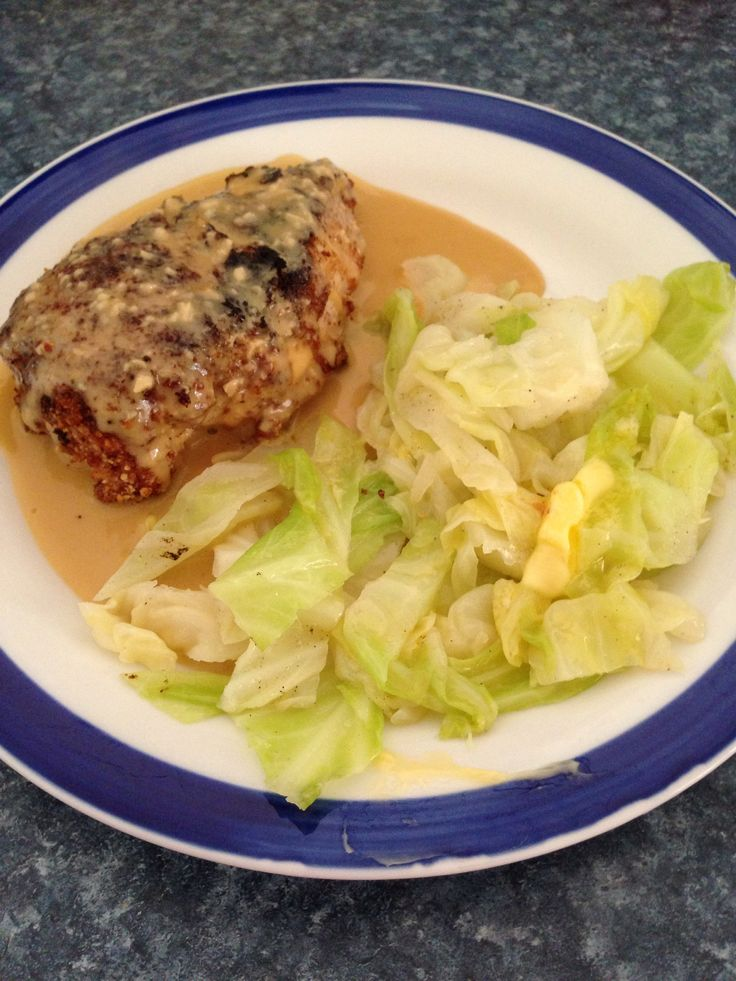 LCHF low carb high fat keto Banting ketogenic recipe lchfmama chicken schnitzel Diane sauce