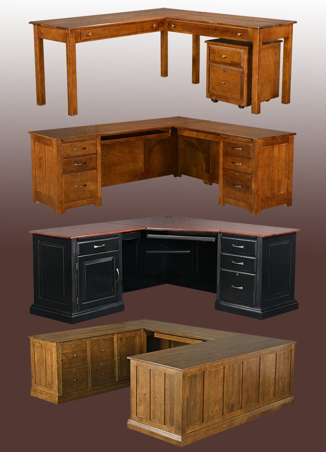 1000 ideas about solid wood desk on pinterest executive. Black Bedroom Furniture Sets. Home Design Ideas