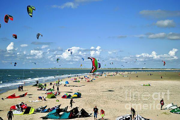 Noordzeestrand in Zeeland in the Netherlands.