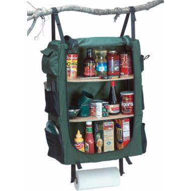 The Creek Company Hanging Camp Cupboard is the perfect camping accessory for the die hard chef. You'll be able to bring all your spices and seasons everywhere you go. Available at Cabela's.
