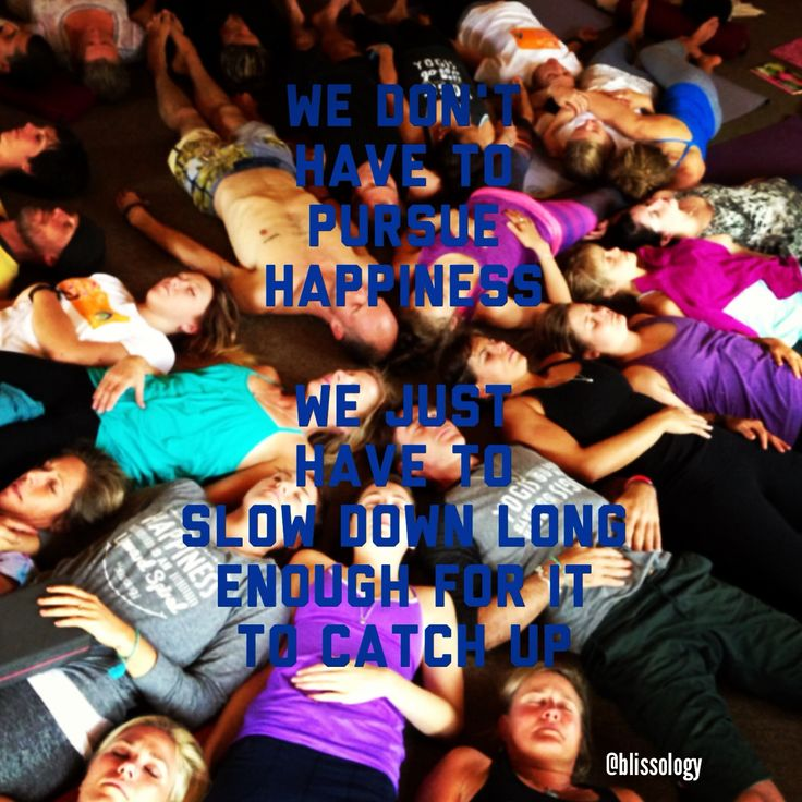 We don't have to pursue happiness. We just have to slow down long enough for it to catch up. - Eoin Finn #eoinism #quote