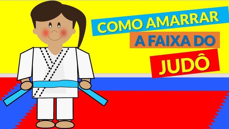 Judoquinhas | Judo Infantil: Como Amarrar a Faixa de Judô (Obi)
