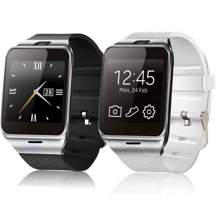 GV18 NFC Smart Uhr Für IOS Android Tragbares Gerät Unterstützung kamera Sim-karte MP3 Fitness Tracker PK F69 GT08 DZ09 Smartwatch //Price: $US $24.99 & FREE Shipping //     #smartuhren
