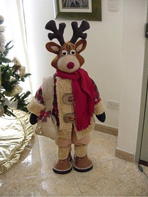 christmas reindeer By Angeline