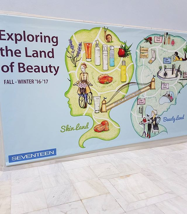 In the Land of Beauty we need a map to guide our steps .. #SeventeenBeautyland…