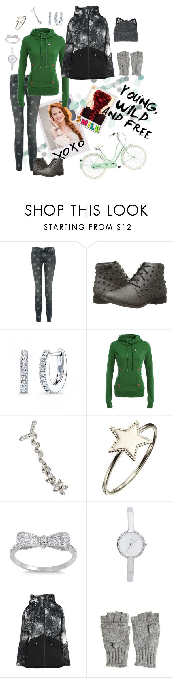 """""""Unbenannt #396"""" by funkenregen ❤ liked on Polyvore featuring Current/Elliott, Volcom, STONE, Phoebe Coleman, DKNY, Patagonia, Calypso St. Barth and Silver Spoon Attire"""