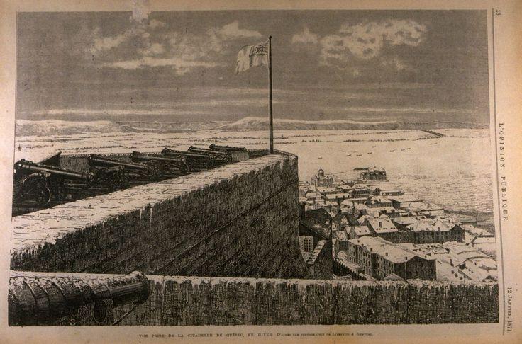La Batterie Royale de la Citadelle de Québec, tiré de L'Opinion publique, 13 janvier 1871