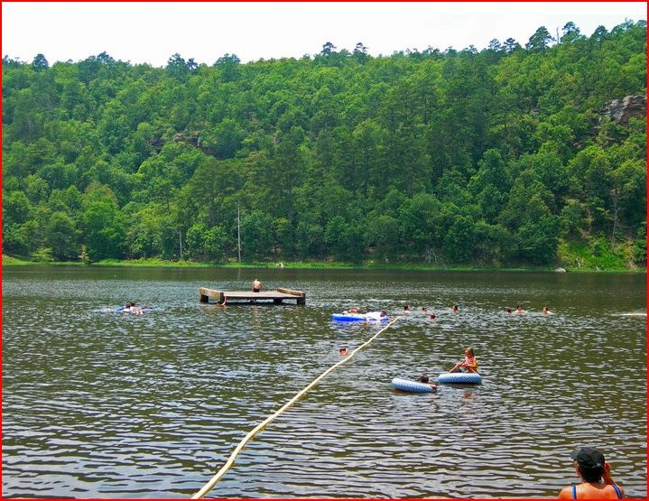 Lake At Robbers Cave State Park Oklahoma High Adventure