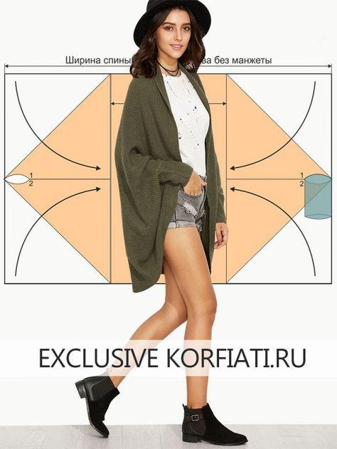 El patrón de punto kardigana de Anastasia Korfiati el Patrón de punto kardigana. Coser tal kardigan muy fácil hasta a los novatos en la costura. ¡Sigan nuestros consejos y el resultado estará por encima de todas las esperanzas!